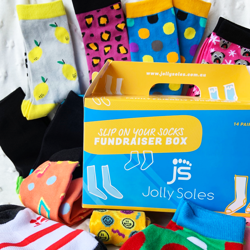 Mixed Sock Box-Boxes-[fundraiser]-Jolly Soles