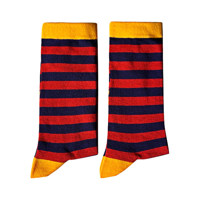 Red and Blue Stripes - Large-Individuals-[fundraiser]-Jolly Soles