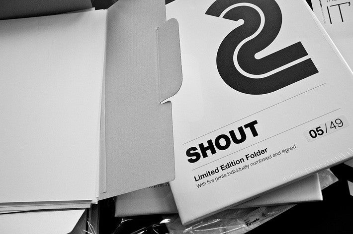 279 Editions Shout Solo Show London 15