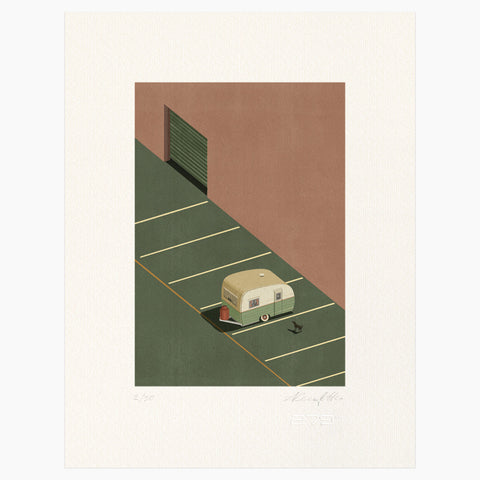 Shout (Alessandro Gottardo) / Untitled (Roulotte)
