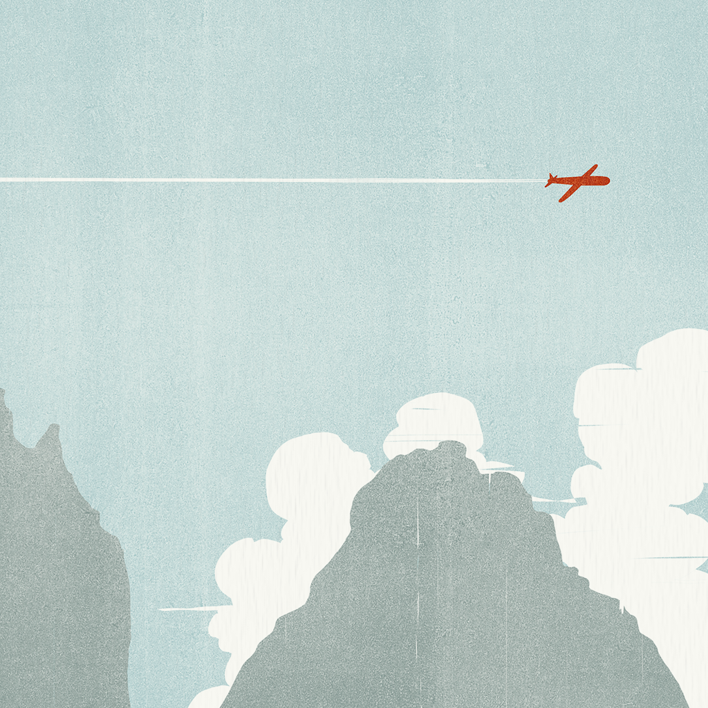 Shout (Alessandro Gottardo) / Flying over the Dolomites