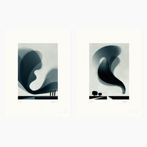 Riccardo Guasco / Murmur Bundle (two prints)