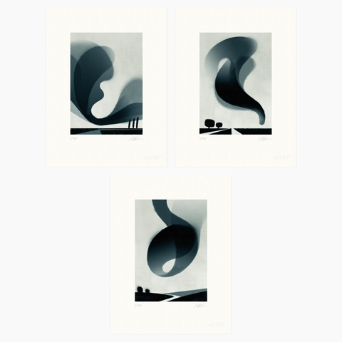 Riccardo Guasco / Murmur Bundle (three prints)