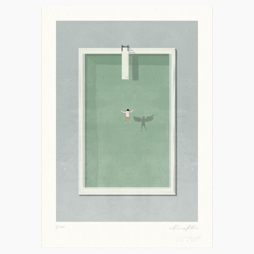 Shout (Alessandro Gottardo) / Green Water