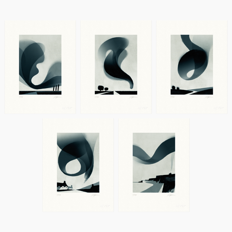 Riccardo Guasco / Murmur Bundle (five prints)