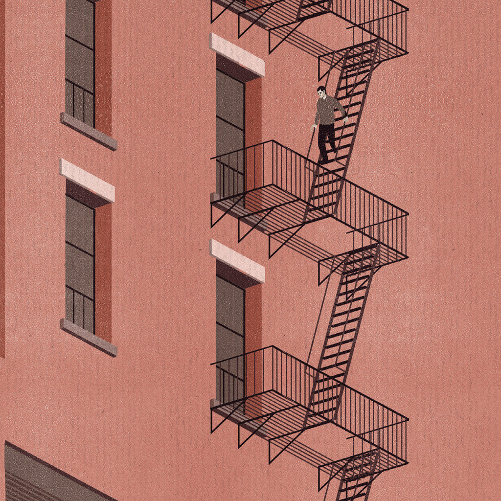 Shout (Alessandro Gottardo) / Untitled (Fire Escapes)