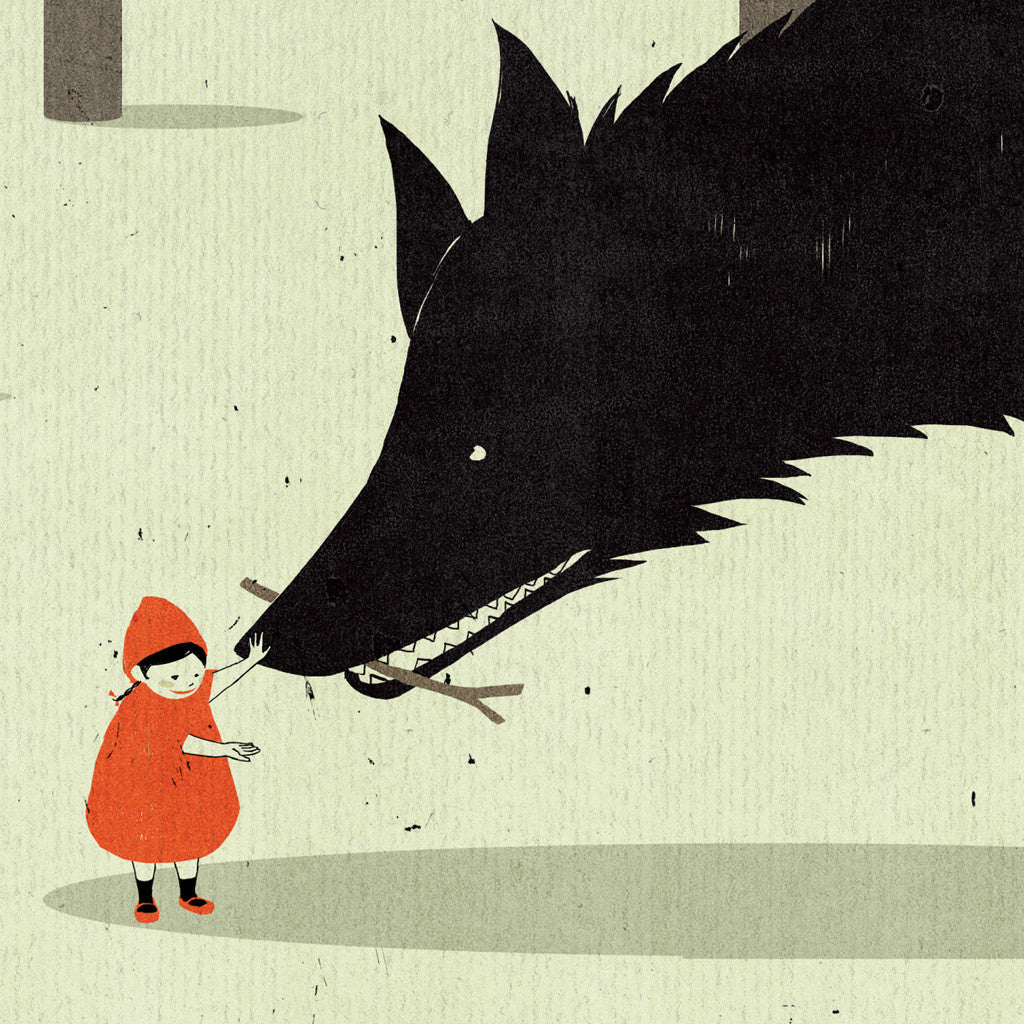 Shout (Alessandro Gottardo) / Little Red Riding Hood and the Wolf (new)