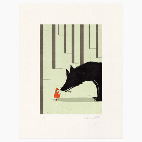 Shout (Alessandro Gottardo) / Little Red Riding Hood and the Wolf