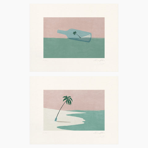 Shout (Alessandro Gottardo) / Sand Story Bundle (two prints)