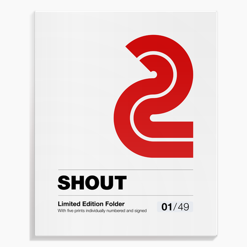 Shout (Alessandro Gottardo) / Limited Edition Folder no. 2