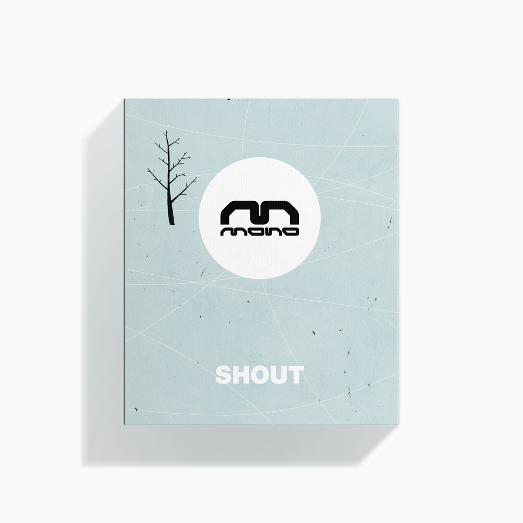 Shout (Alessandro Gottardo) / Mono Shout (new, factory sealed)
