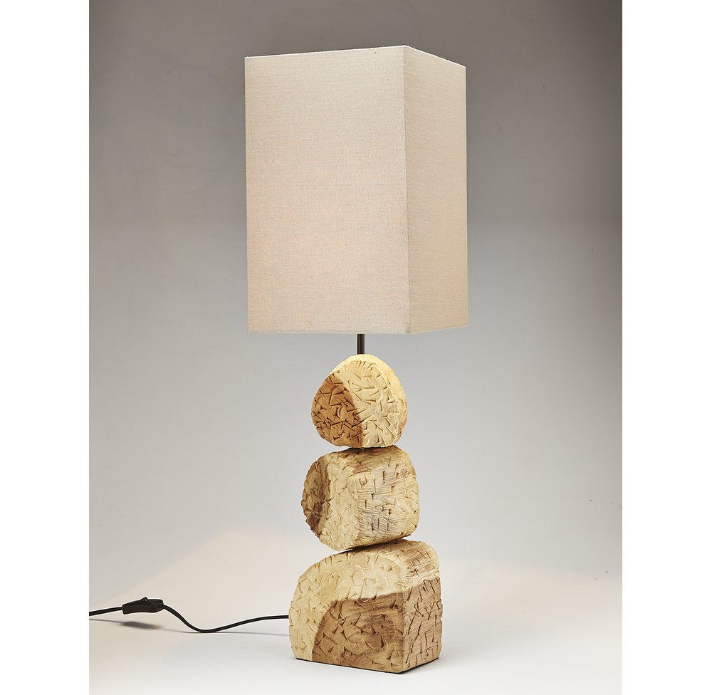 Acacia Wood Lamp - O'THENTIQUE