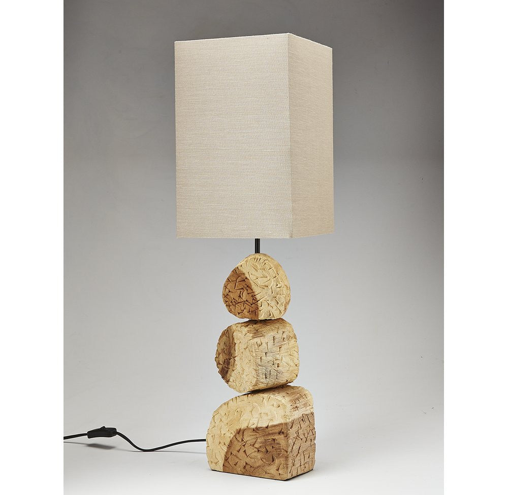 Acacia Wood Lamp-OTHENTIQUE-OTHENTIQUE