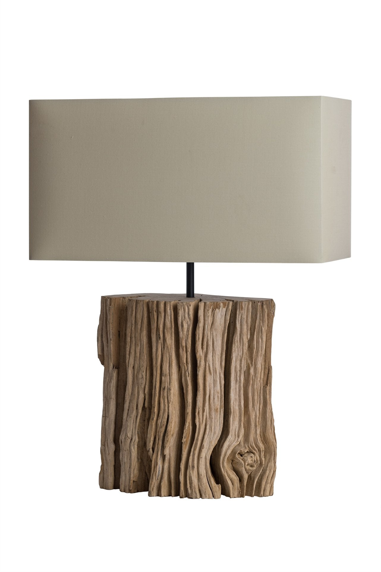 Driftwood Bark Table Lamp - O'THENTIQUE