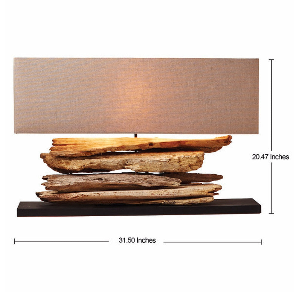 Driftwood Console Lamp - O'THENTIQUE