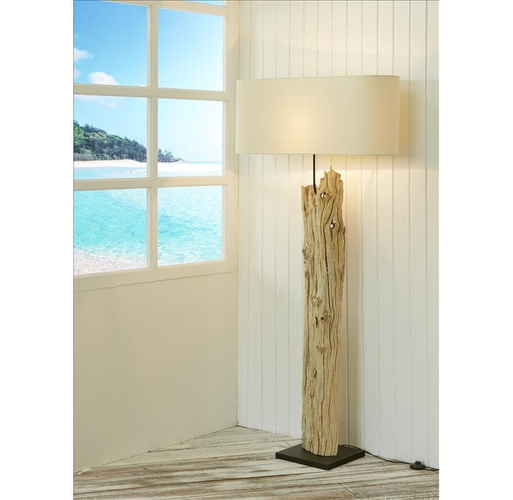 isra floor lamp driftwood and lights pin