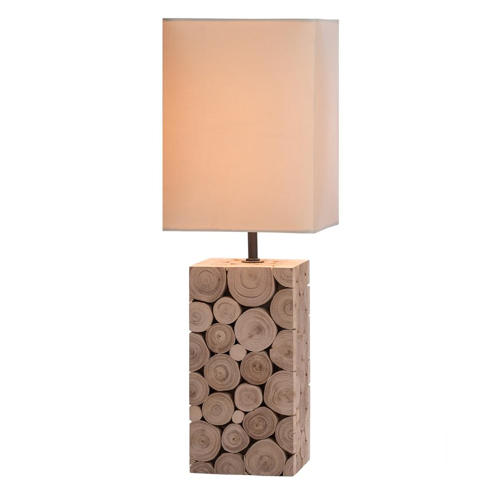 Driftwood Mosaic Table Lamp - O'THENTIQUE