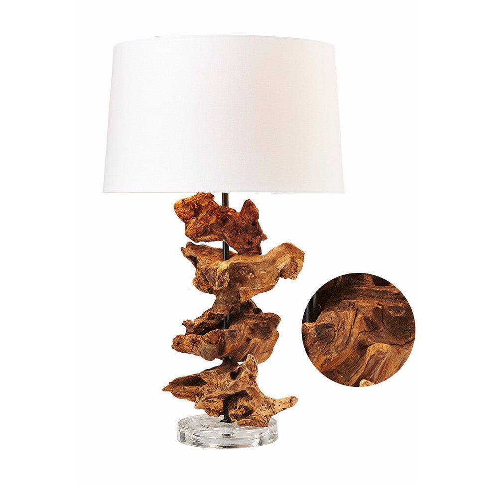 Driftwood Roots Table Lamp Acrylic - O'THENTIQUE