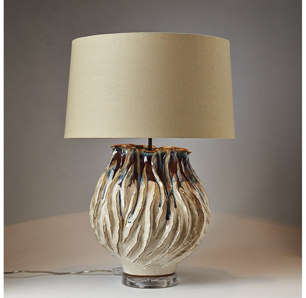 Completely new Handmade Ceramic Table Lamp – OTHENTIQUE QY33