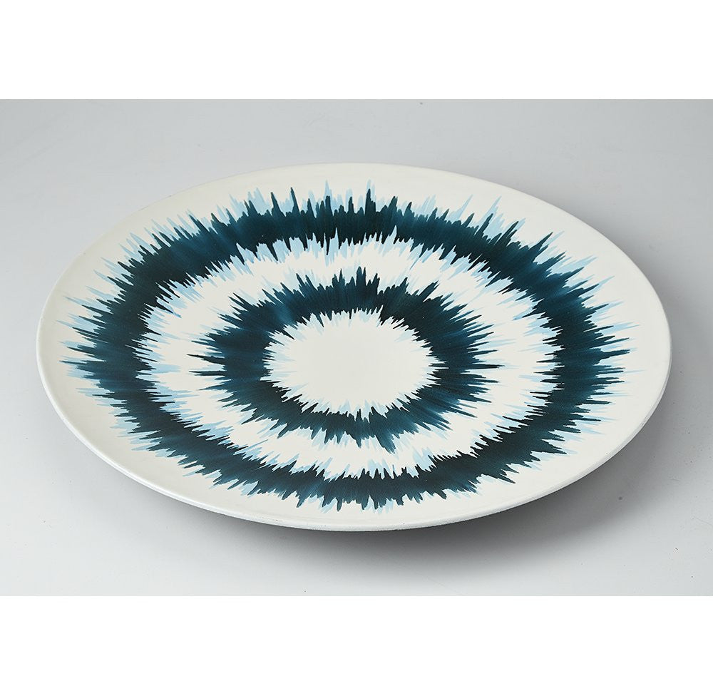 Lacquerware Platter Hand painted - O'THENTIQUE