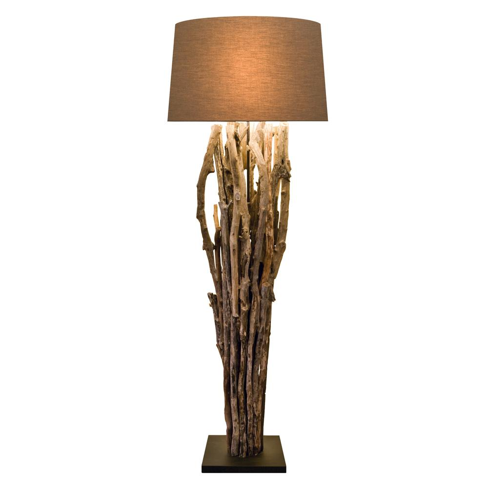 Large Driftwood Floor Lamp - O'THENTIQUE