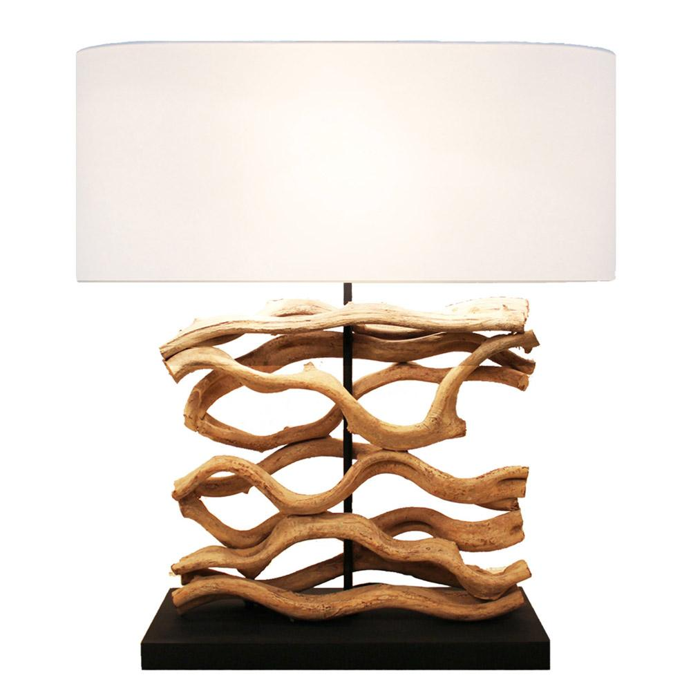 Large Driftwood Vine Table Lamp - O'THENTIQUE