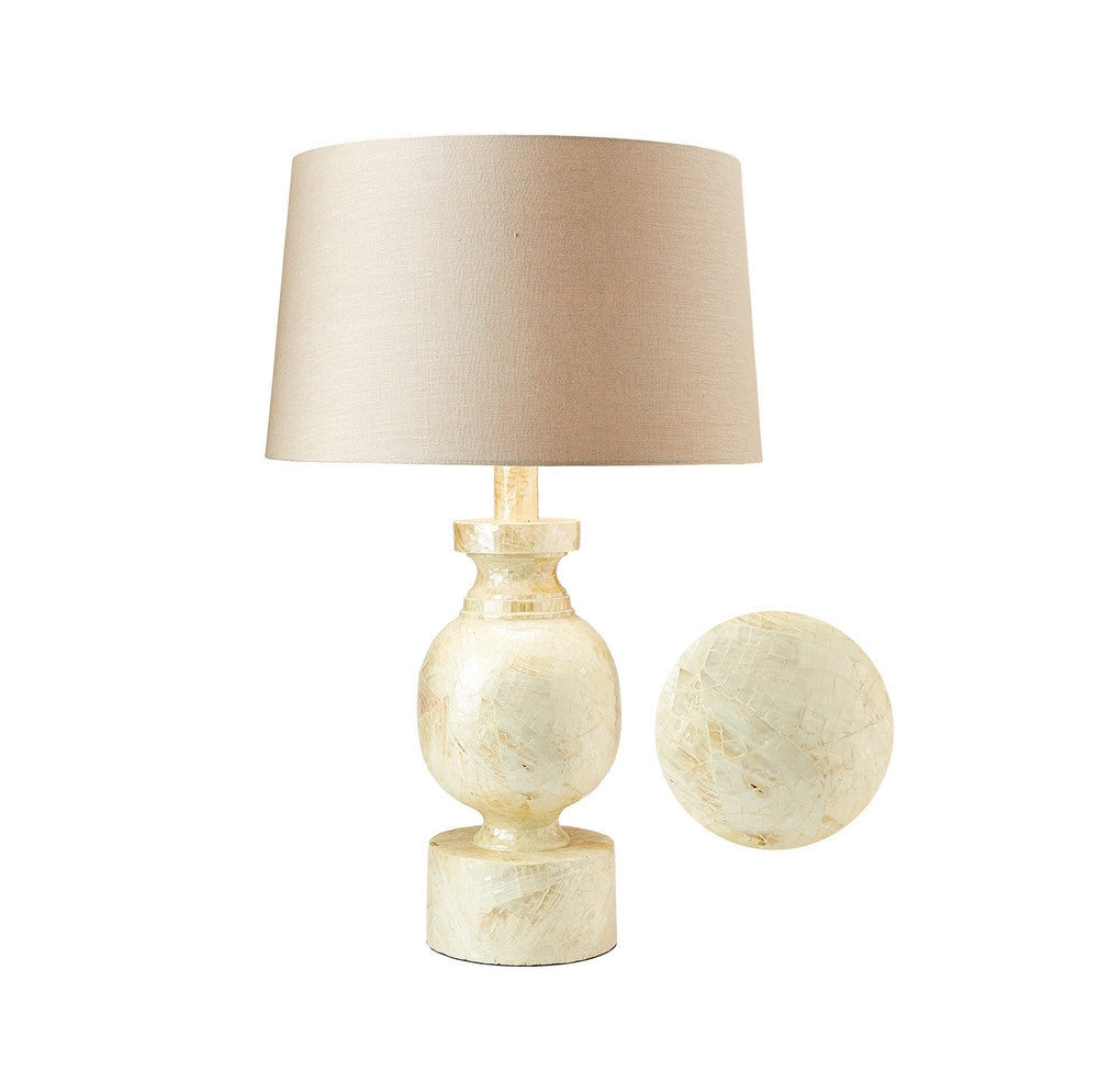 ... Large Mother Of Pearl Table Lamp OTHENTIQUE OTHENTIQUE ...