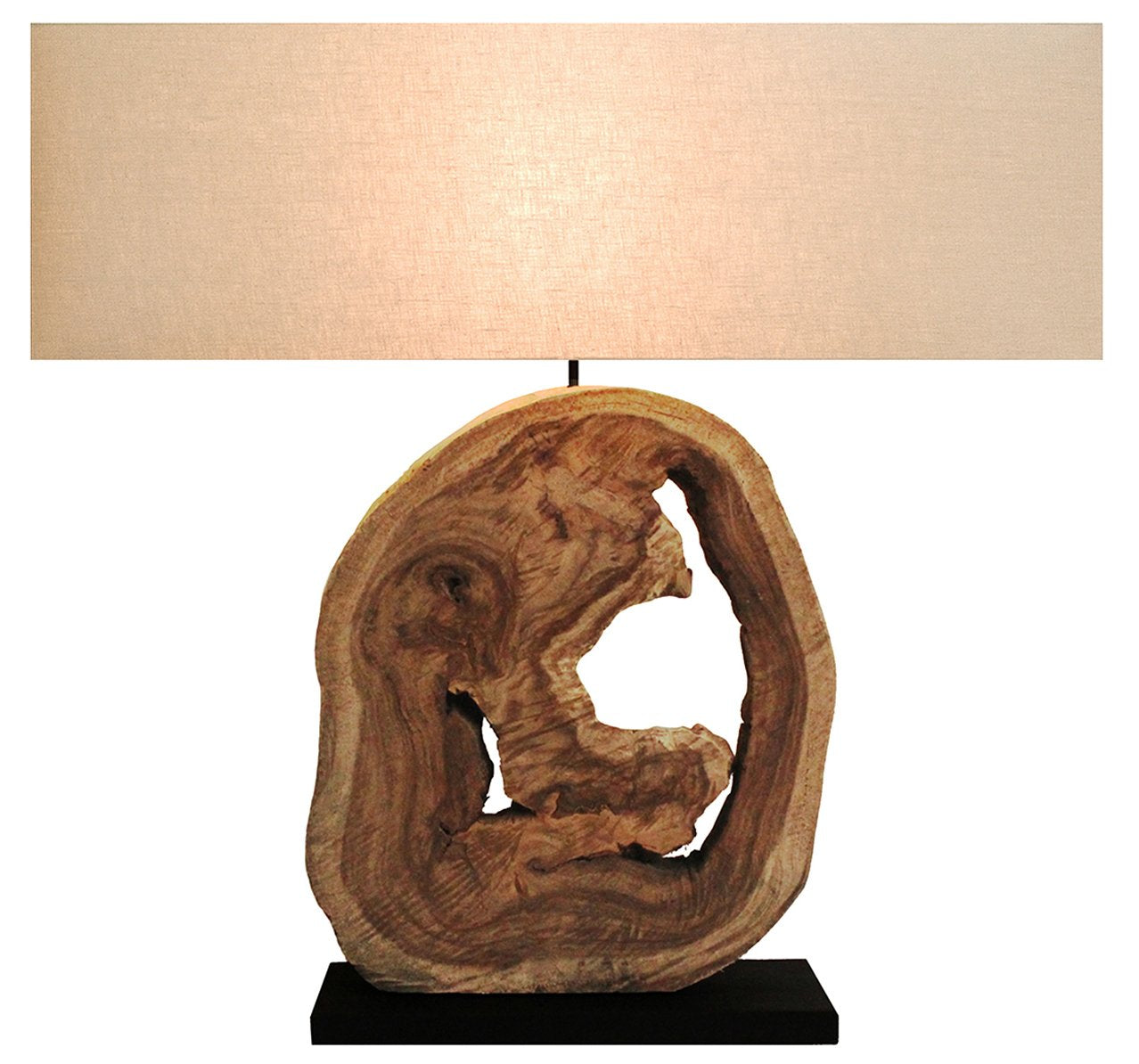 Large 'Nature's Own' Hollow Driftwood Lamp - O'THENTIQUE