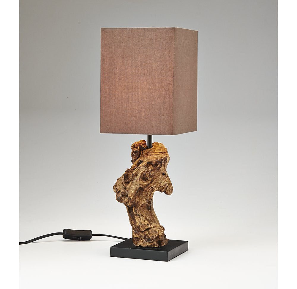 Mini Driftwood Accent Lamp - O'THENTIQUE