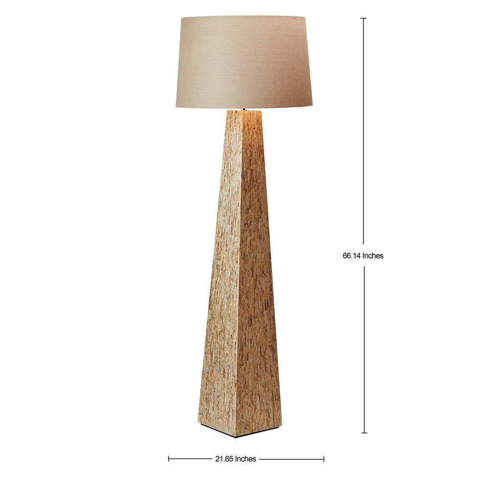 Mother of Pearl Floor Lamp - O'THENTIQUE