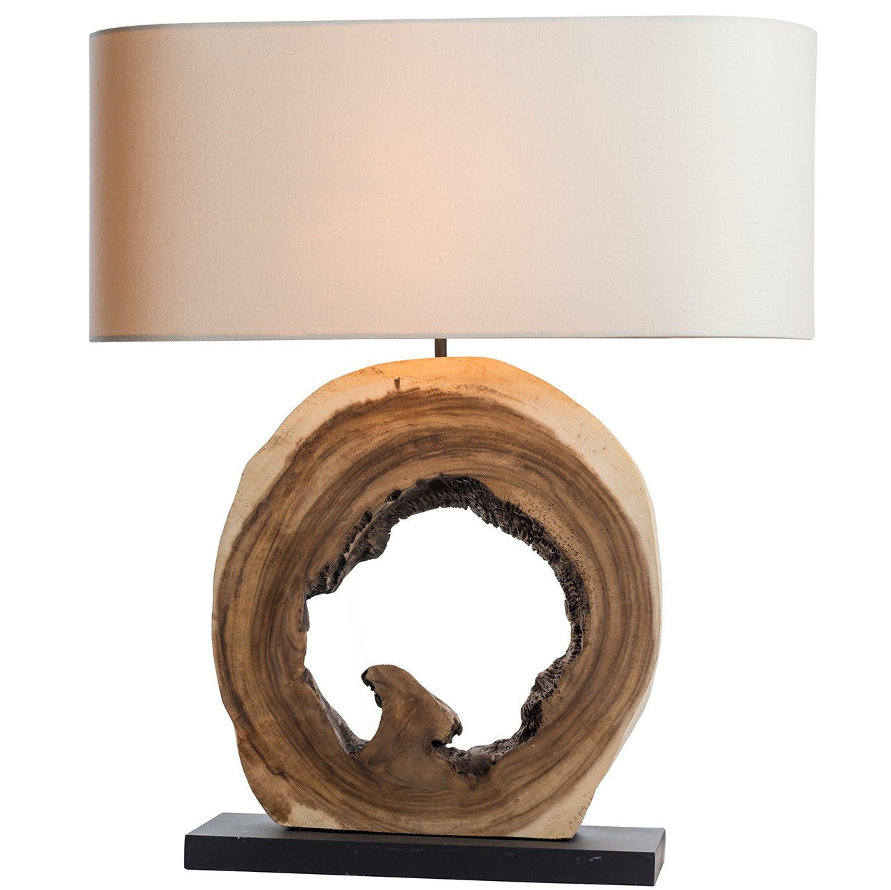 'Nature's Own' Hollow Driftwood Lamp - O'THENTIQUE