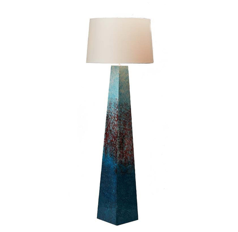 Rust Effect Floor Lamp - O'THENTIQUE