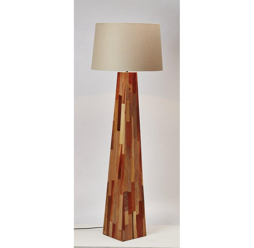 Scandinavian Style Wooden Floor Lamp - O'THENTIQUE