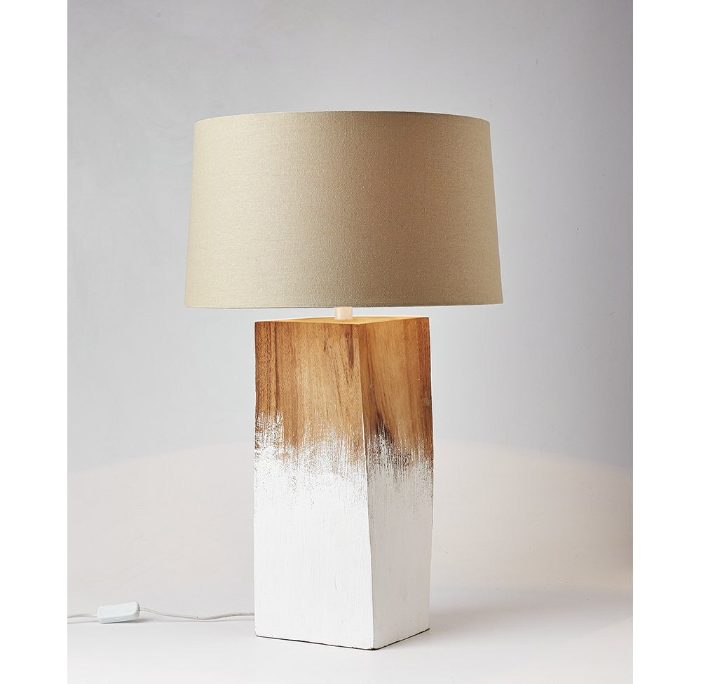 Solid Wood Lamp - O'THENTIQUE
