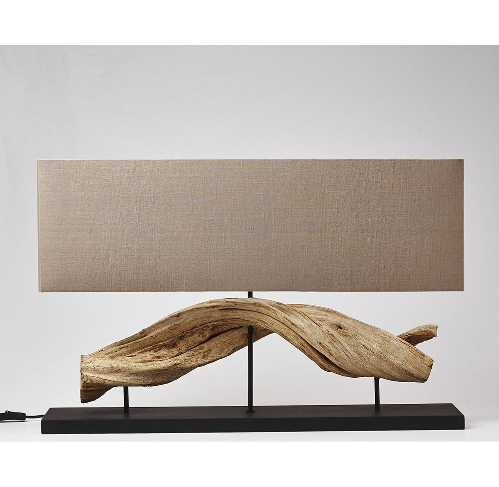 Vine Wood Table Lamp-OTHENTIQUE-OTHENTIQUE