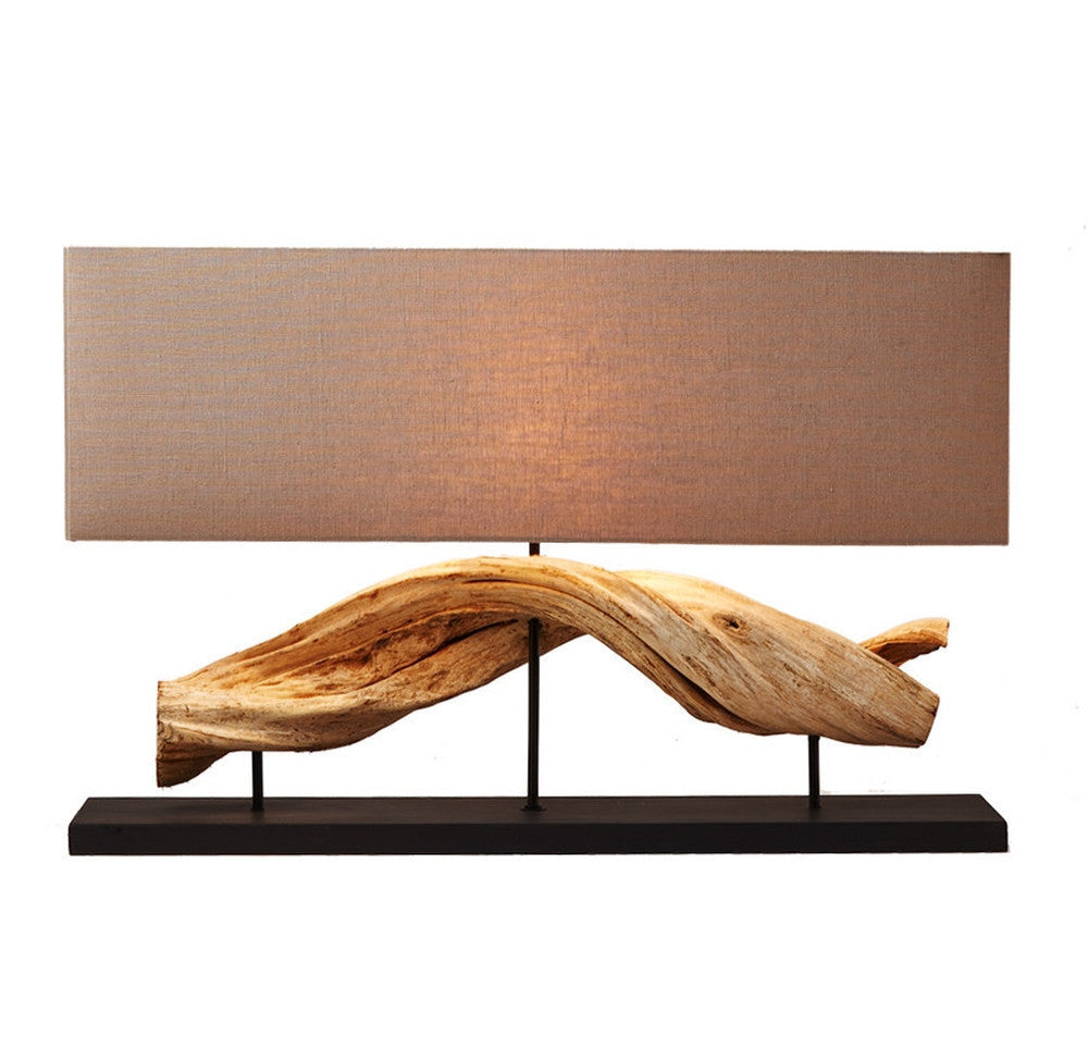 Vine Wood Table Lamp - O'THENTIQUE
