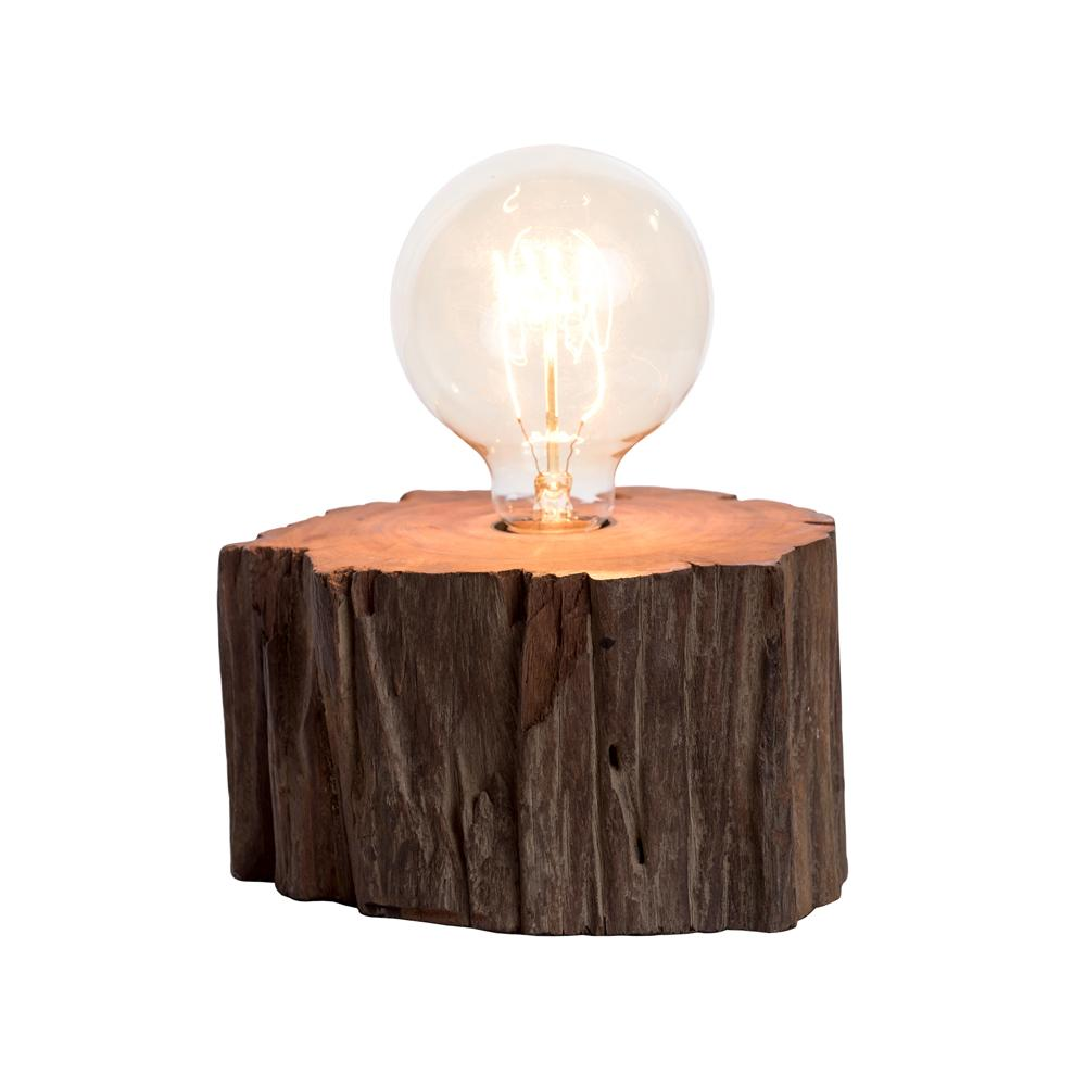 Wooden Industrial Lamp - O'THENTIQUE