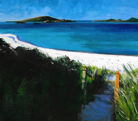 Path to the Beach - Scilly