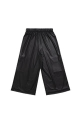 Culottes Pants_Leatherette
