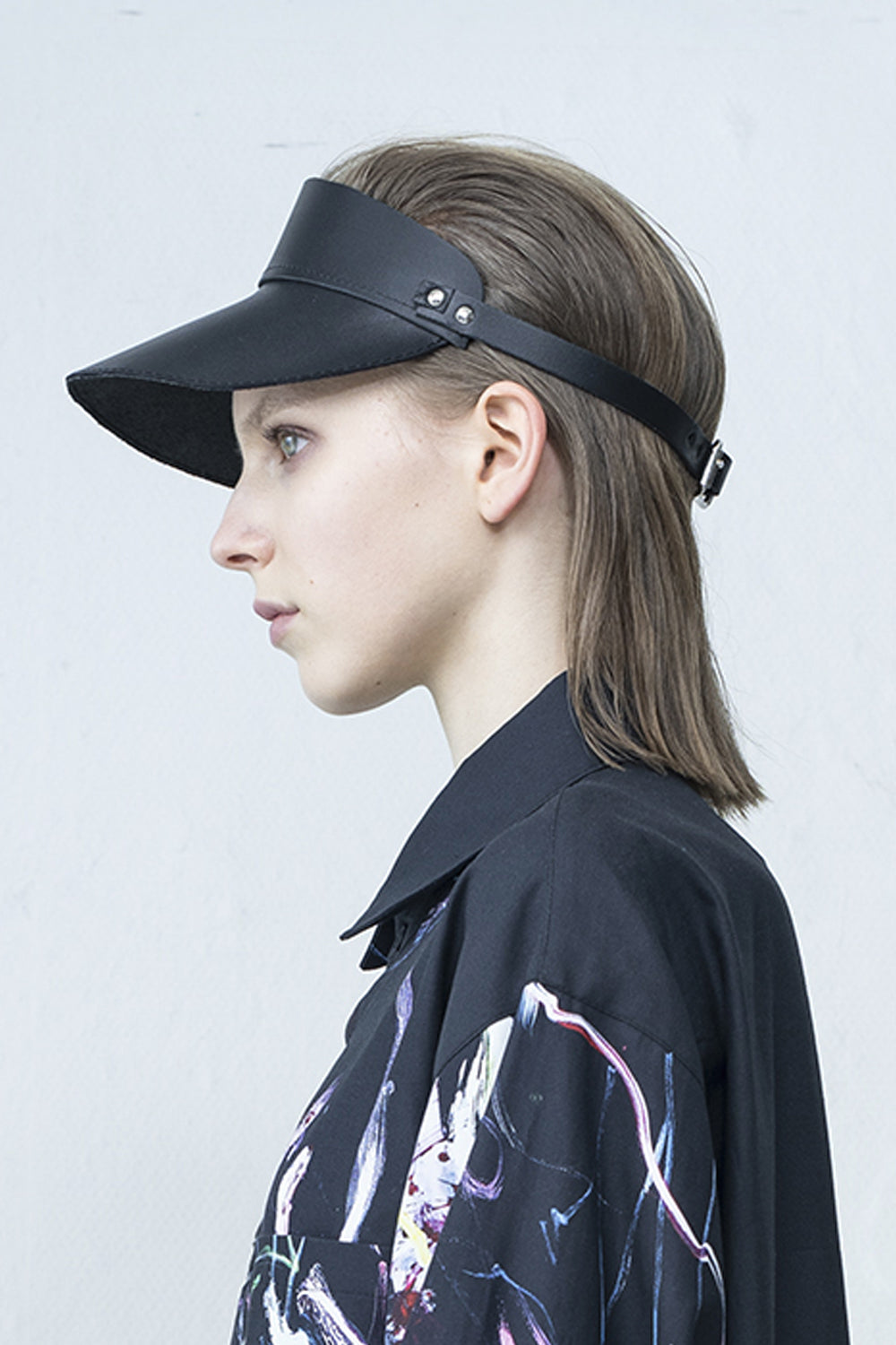 Minimal Leather Cap