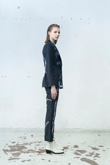 Mirkka Metsola Tailored Blazer Jacket. Designed in Finland, Made in Estonia.