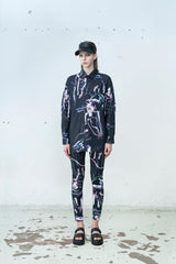 Ville Kylätasku x Mirkka Metsola. Sustainable High Waisted Print Leggings.