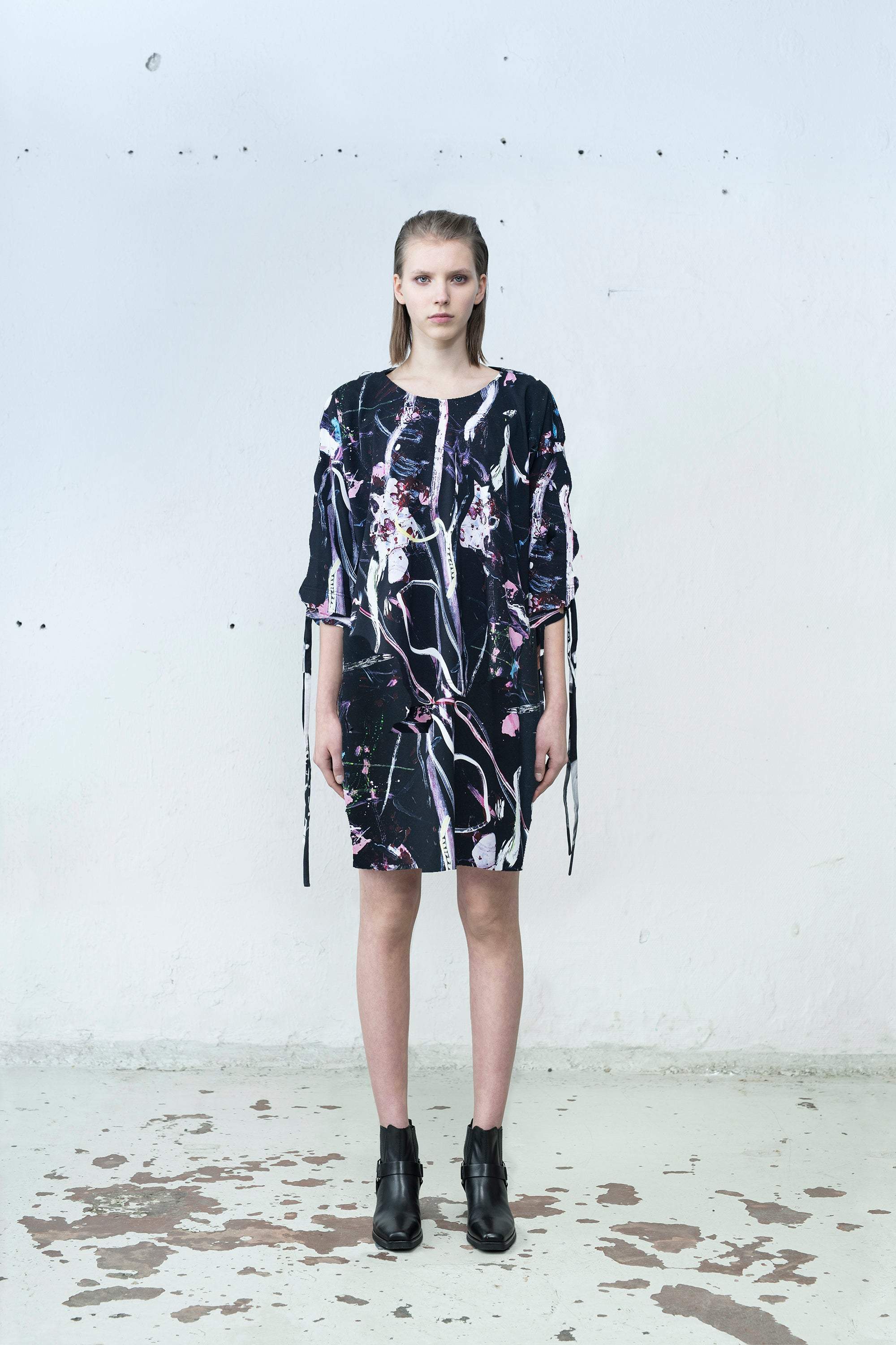Ville Kylätasku x Mirkka Metsola. Sustainable Braided Tunic Designed in Finland, Made in Estonia.