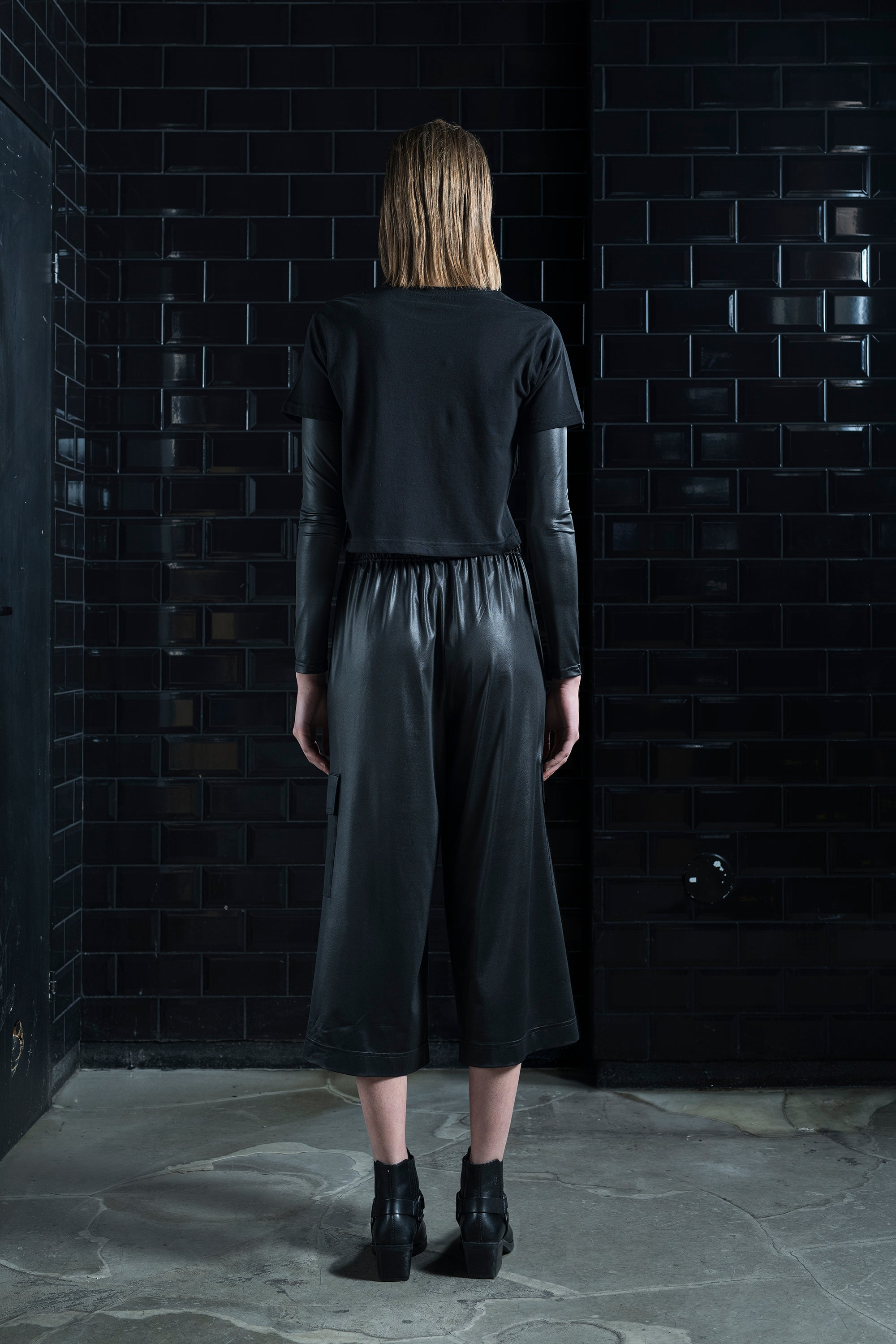 Mirkka Metsola Sustainable Culottes Leather Pants