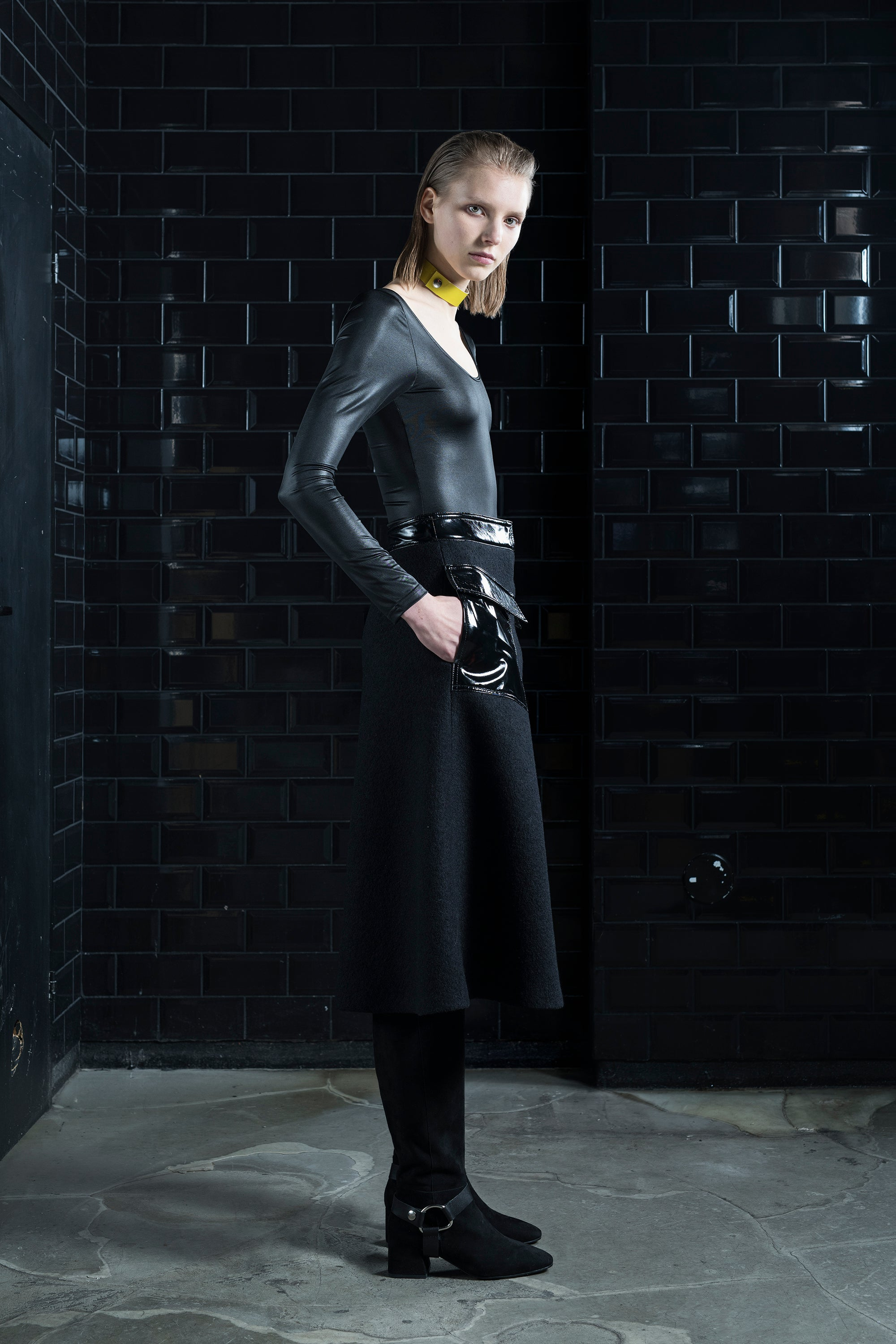 Long Sleeve Body_Leatherette