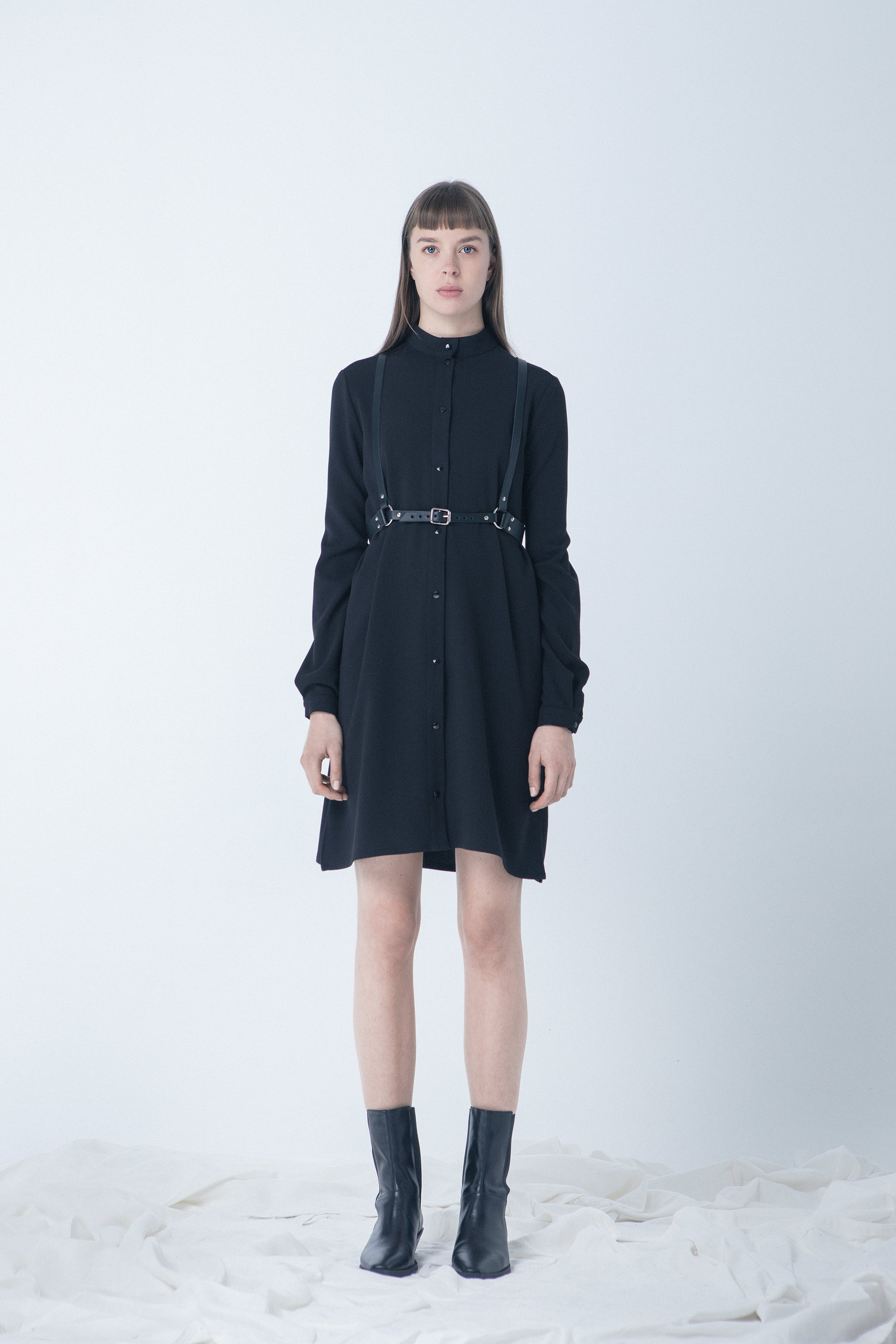 Shirt Dress_BLACK