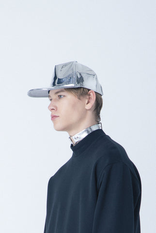 5 Panel Cap [Chrome PVC]