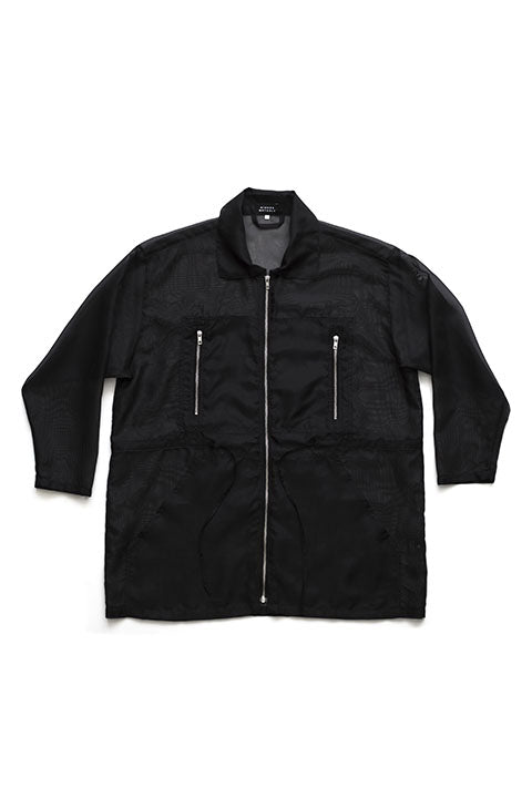 Sustainable Oversized Sporty Jacket. Designed in Finland, Made in Estonia.