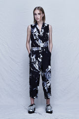 Galaxy Silk Jumpsuit