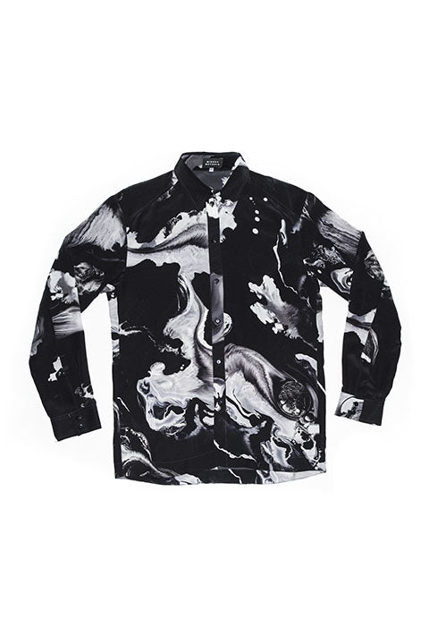 Galaxy Silk Shirt